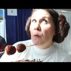 Star Wars Invades The Chocolate Expo